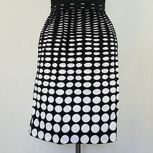 J. Crew Polka Dot Skirt With Pockets